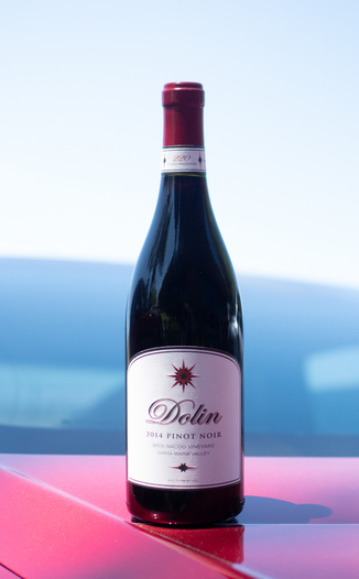 Dolin Malibu Estate Vineyards 2014 Bien Nacido Vineyard Santa Maria Valley Pinot Noir 750ml Wine Bottle