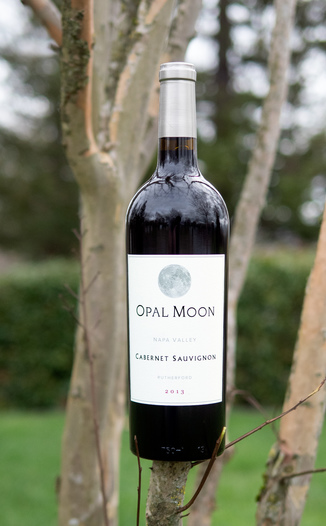 Opal Moon 2013 Napa Valley Rutherford Cabernet Sauvignon 750ml Wine Bottle