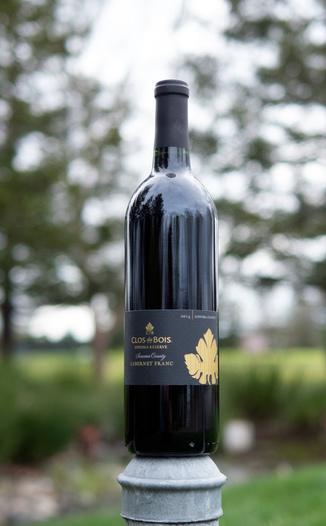 Clos du Bois 2014 Sonoma County Sonoma Reserve Cabernet Franc 750ml Wine Bottle
