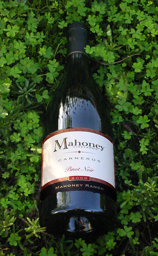 Mahoney Vineyards 2005 Mahoney Ranch Pinot Noir 750ml Wine Bottle
