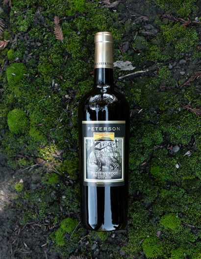 Peterson Winery 2014 Dry Creek Valley Sonoma County Estate Grown Petit Verdot 750ml Wine Bottle