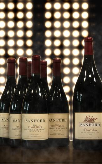 Sanford Winery 2013 Sta. Rita Hills Pinot Noir Magnum 750ml Wine Bottle