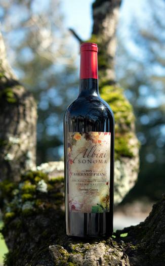Albini Sonoma 2015 Sonoma County Cabernet Franc 750ml Wine Bottle