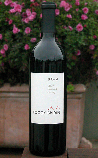Foggy Bridge Winery 2007 Classic Zinfandel 750ml Wine Bottle