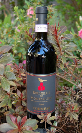 Le Benducce de Tornesi 2003 Brunello di Montalcino DOCG 750ml Wine Bottle