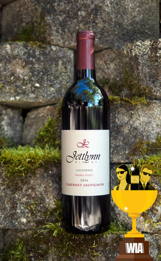 Jettlynn 2016 Barrel Select Cabernet Sauvignon 750ml Wine Bottle