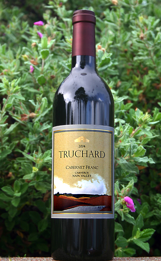 Truchard Vineyards 2004 Cabernet Franc 750ml Wine Bottle