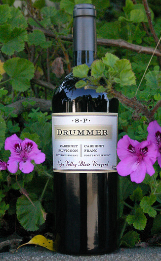 S.P. Drummer Wines 2004 Napa Valley Blair Vineyard 750ml Wine Bottle
