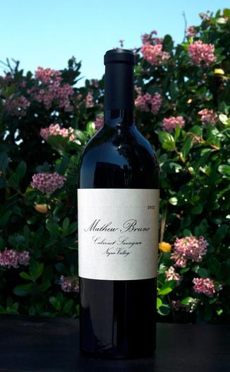 Mathew Bruno 2012 Napa Valley Cabernet Sauvignon 750ml Wine Bottle