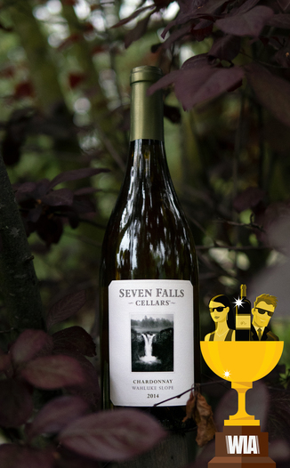 Seven Falls Cellars 2014 Wahluke Slope Chardonnay 750ml Wine Bottle