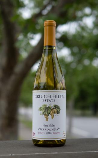 Grgich Hills Estate 2015 Napa Valley Estate Grown Chardonnay 750ml Wine Bottle