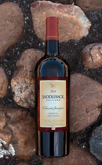 Saddleback Cellars 2014 Oakville Cabernet Sauvignon 750ml Wine Bottle