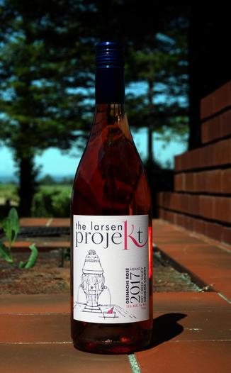 The Larsen Projekt 2017 Dry Creek Valley Grenache Rosé 750ml Wine Bottle