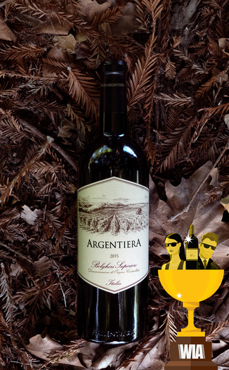 "Tenuta Argentiera 2015 ""Argentiera"" Bolgheri Superiore 750ml Wine Bottle"