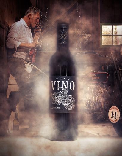 """Annadel Estate Winery 2013 """"Team Vino"""" Red Blend 750ml Wine Bottle"""
