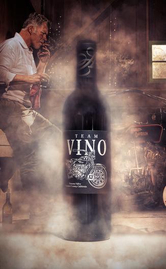 Annadel Estate Winery 2013 'Team Vino' Red Blend 750ml Wine Bottle