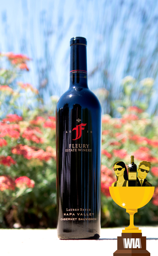 "Fleury Estate 2010 ""Lauren Bryce"" Napa Valley Cabernet Sauvignon 750ml Wine Bottle"