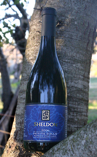 Sheldon Wines 2006 Ripken Vineyard Petite Sirah 750ml Wine Bottle