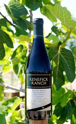 Kenefick Ranch 2012 Calistoga Petite Sirah 750ml Wine Bottle