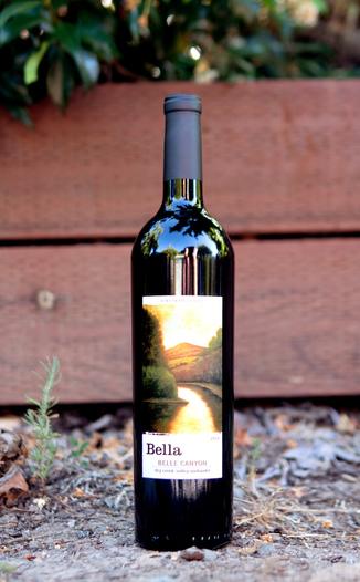 Bella Vineyards & Wine Caves 2014 'Belle Canyon' Dry Creek Valley Zinfandel 750ml Wine Bottle