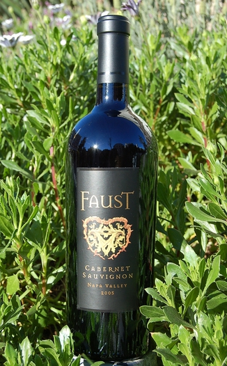 Faust 2005 Napa Valley Cabernet Sauvignon 750ml Wine Bottle