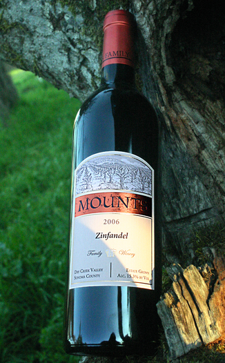 Mounts Family Winery 2006 Zinfandel 750ml Wine Bottle