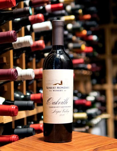 Robert Mondavi Winery 2016 Napa Valley Oakville Cabernet Sauvignon 750ml Wine Bottle