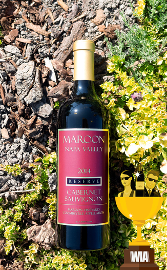 Maroon Wines 2014 'Maroon Vineyard' Coombsville Reserve Cabernet Sauvignon 750ml Wine Bottle