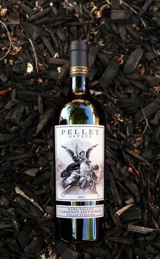 Pellet Estate 2012 Pellet Vineyard Napa Valley Cabernet Sauvignon 750ml Wine Bottle