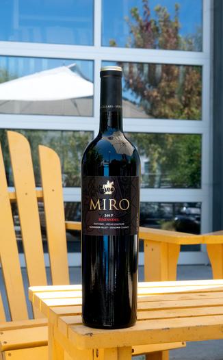 Miro Cellars 2017 Hemar Vineyard Old Vines Alexander Valley Zinfandel 750ml Wine Bottle