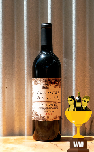 Kitfox Vineyards 2016 Treasure Hunter 'Last Word' Columbia Valley Cabernet Sauvignon 750ml Wine Bottle