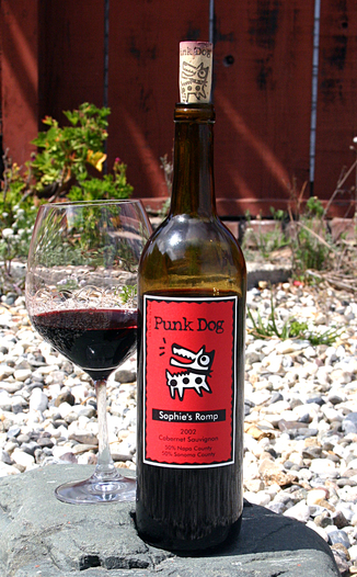 Punk Dog Wines 2002 Sophie's Romp 750ml Wine Bottle