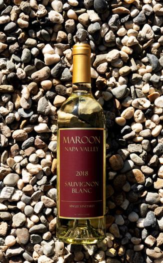 Maroon Wines 2018 Single Vineyard Napa Valley Sauvignon Blanc 750ml Wine Bottle