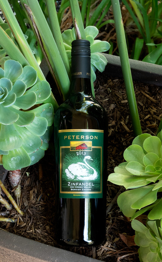 Peterson Winery 2013 Bernier Zineyard Dry Creek Valley Zinfandel 750ml Wine Bottle