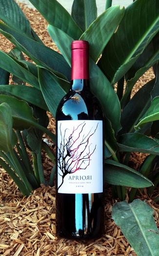 Apriori Cellar 2016 'Vin Rouge' Proprietary Red 750ml Wine Bottle