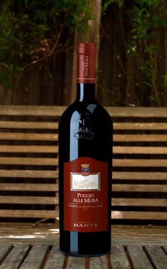 Banfi 2016 'Poggio alle Mura' Rosso di Montalcino DOC 750ml Wine Bottle