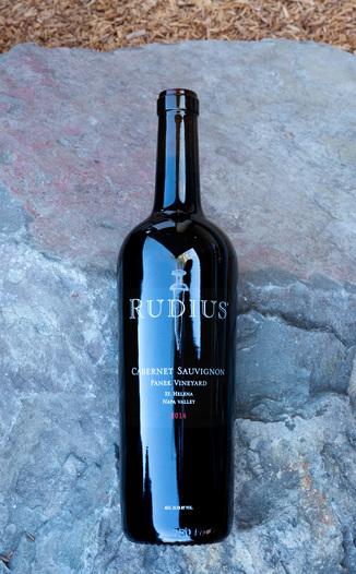 Rudius 2014 Panek Vineyard St. Helena Napa Valley Cabernet Sauvignon 750ml Wine Bottle