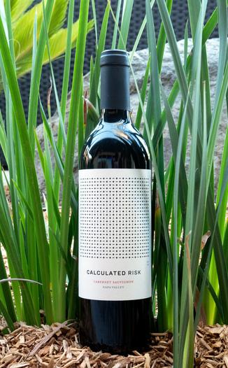 Calculated Risk 2016 Cabernet Sauvignon Napa Valley 750ml Wine Bottle