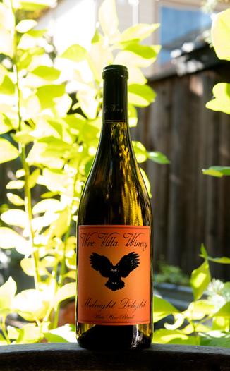Wise Villa Winery 2017 'Midnight Delight' Clarksburg Chardonnay / Muscat 750ml Wine Bottle