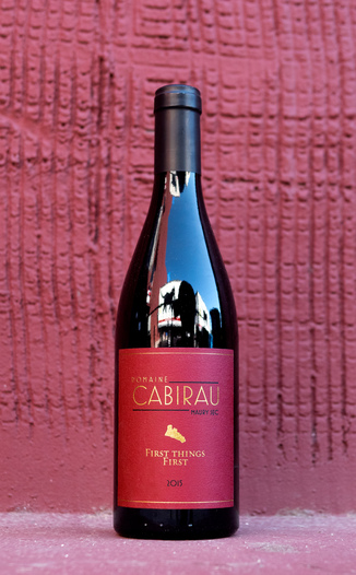 Domaine Cabirau 2015 'First Things First' Maury Sec AOC 750ml Wine Bottle