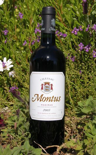 Chateau Montus 2005 Madiran AOC 750ml Wine Bottle