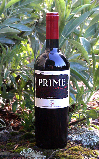 Prime Cellars 2005 District 4 Cabernet Sauvignon 750ml Wine Bottle