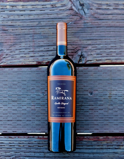 Ramirana 2015 Apalta Vineyard Colchagua Valley Cabernet Blend 750ml Wine Bottle