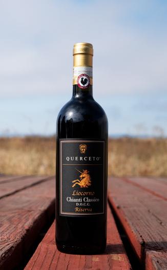Castello di Querceto 2015 'Liocorno' Chianti Classico Riserva DOCG 750ml Wine Bottle