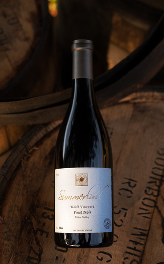 Summerland Winery 2014 Wolff Vineyard Edna Valley Pinot Noir 750ml Wine Bottle