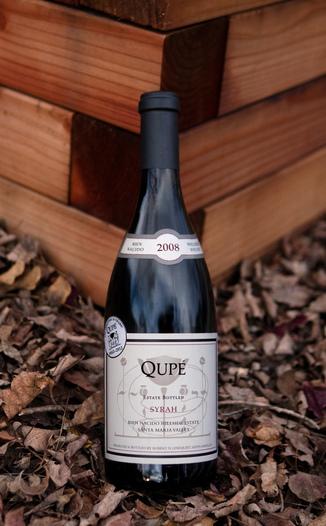 Qupé 2008 Hillside Estate Syrah 750ml Wine Bottle