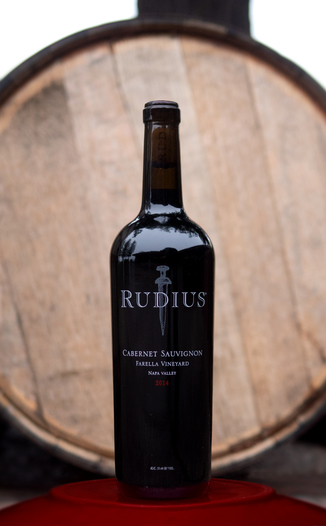 Rudius 2014 Farella Vineyard Coombsville Napa Valley Cabernet Sauvignon 750ml Wine Bottle