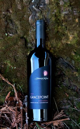 Goldschmidt Vineyards 2014 'Gracepoint' Railyard Vineyard Alexander Valley Zinfandel 750ml Wine Bottle