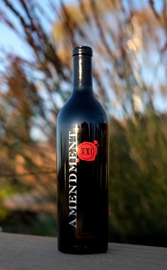 Beau Vigne 2016 'Amendment XXI' Napa Valley Merlot 750ml Wine Bottle