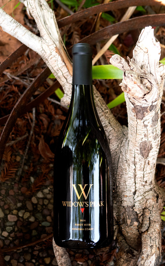 Beau Vigne 2016 'Widow's Peak' Sonoma Coast Pinot Noir 750ml Wine Bottle